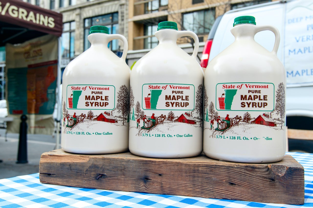 All the maple syrup you could be having if you moved to Vermont.