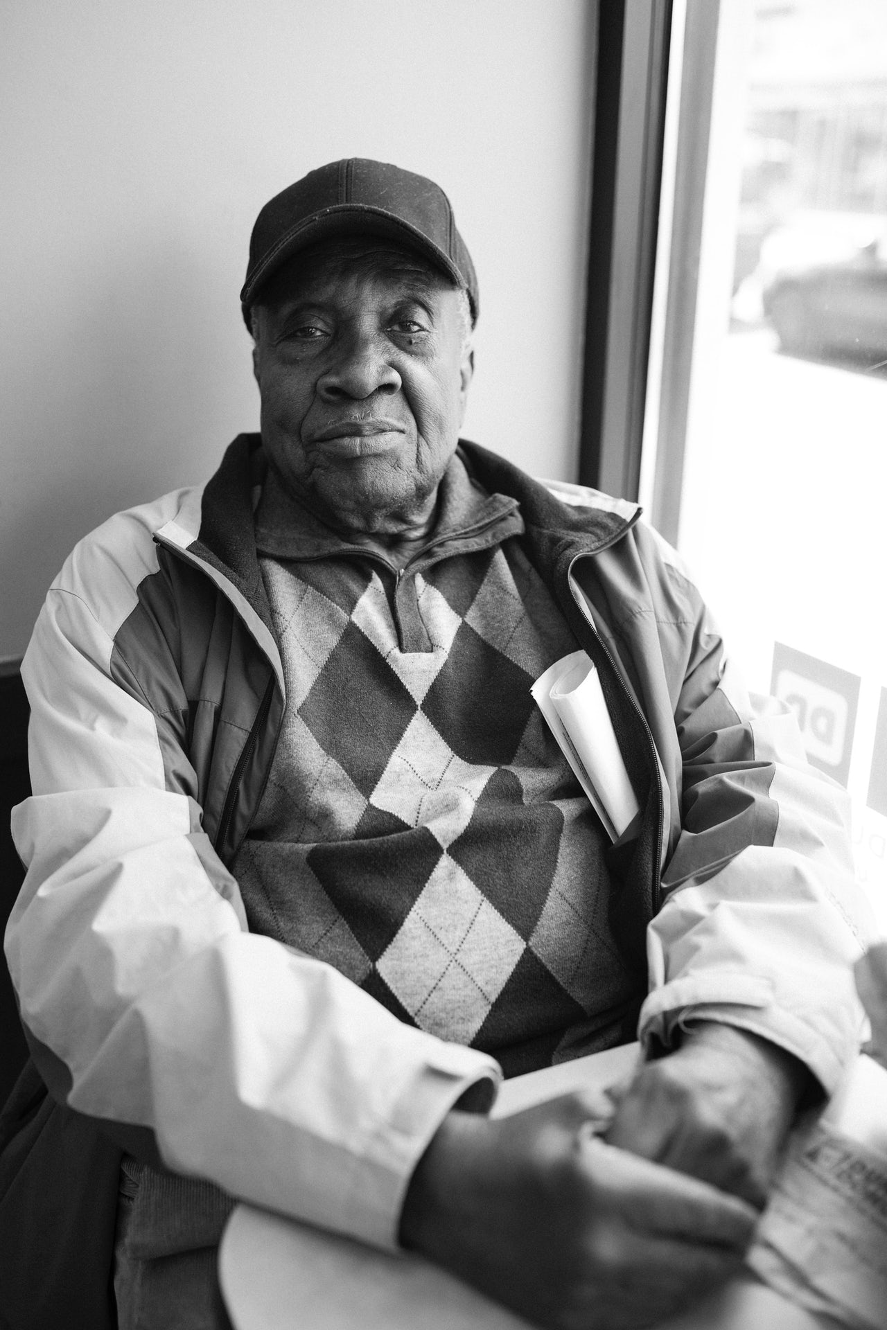 Mr. Hawkins, 87, a retired teacher.