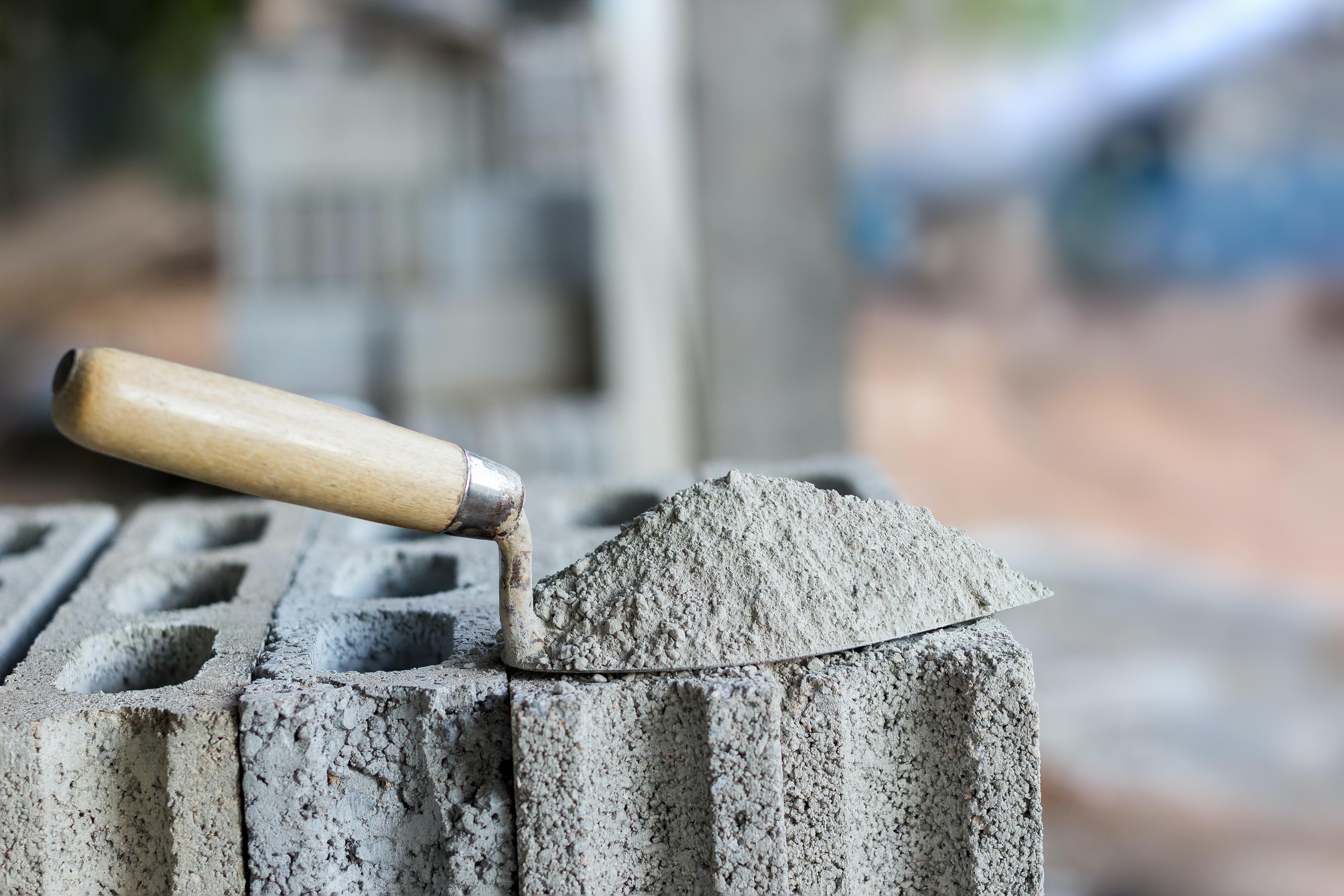Cement, concrete - a little about the important 13