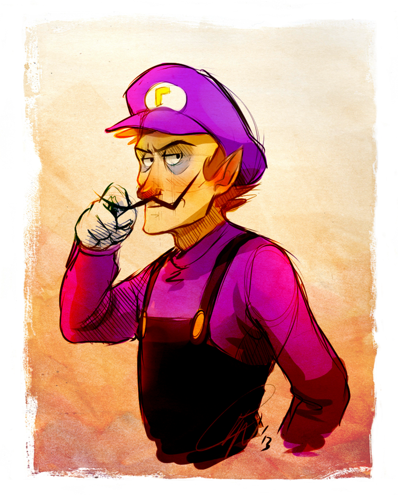 Why the internet loves Waluigi so much   The Outline