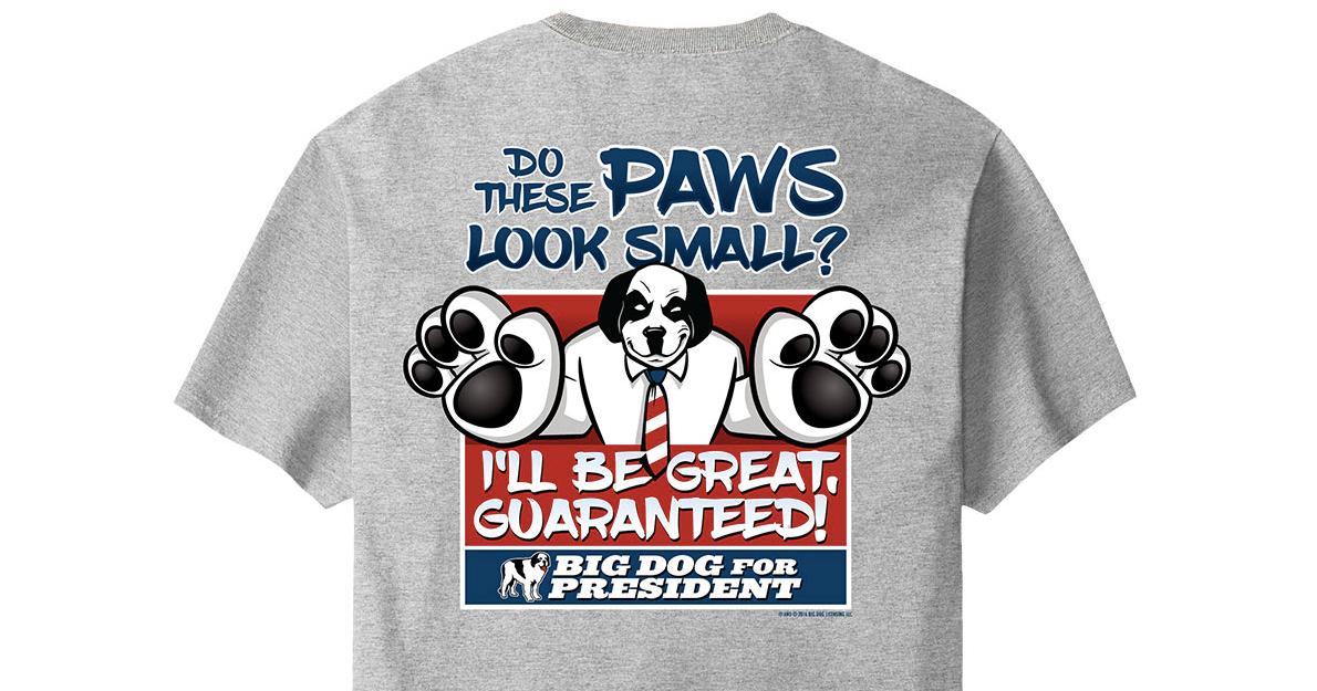 trump dog shirt