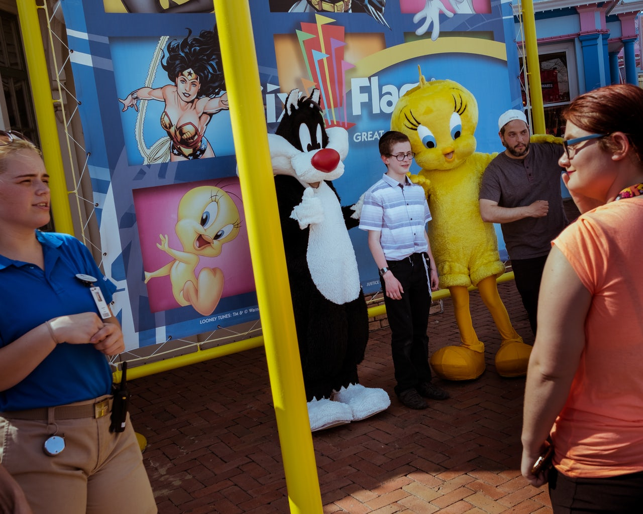 A glimpse inside Autism Day at Six Flags | The Outline