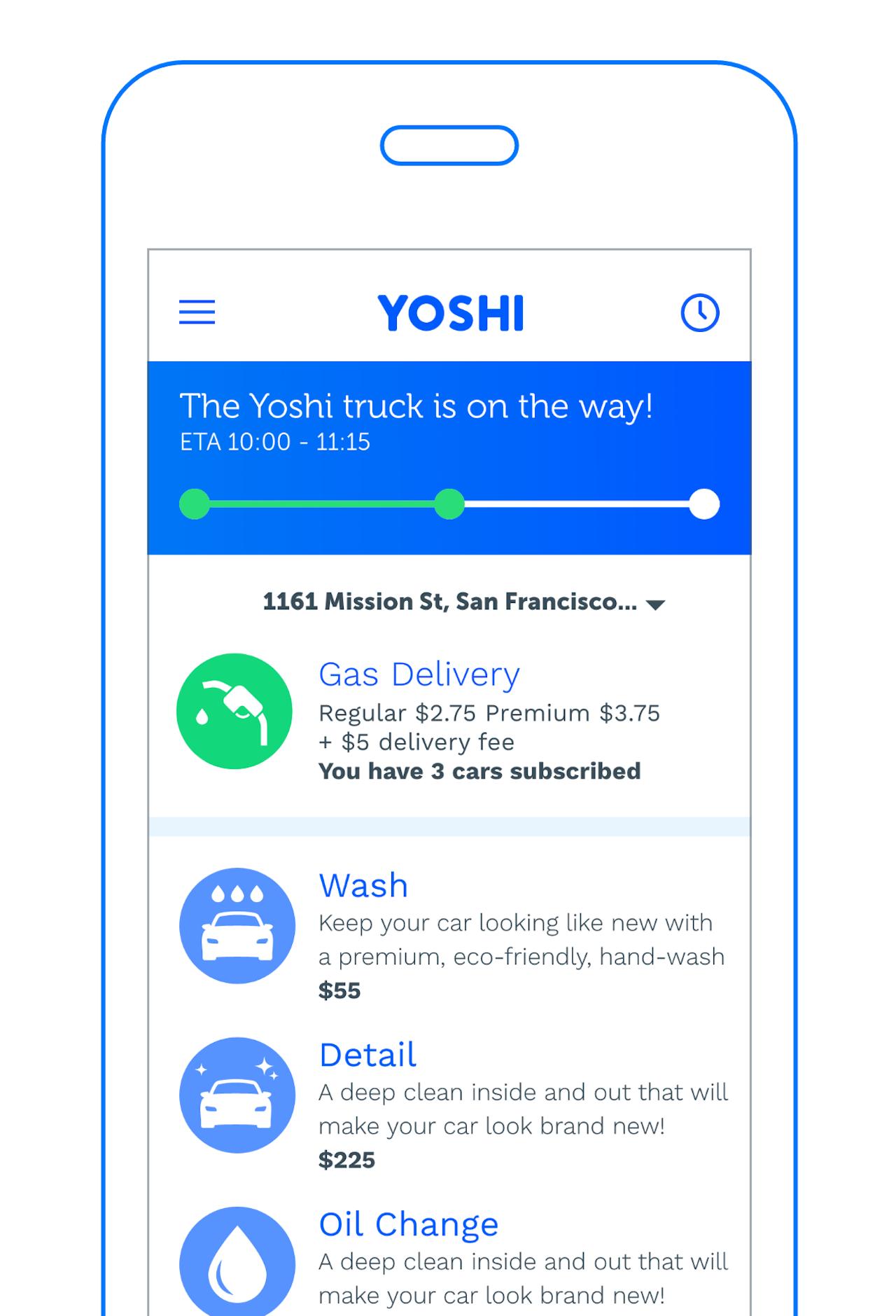 The Yoshi app.