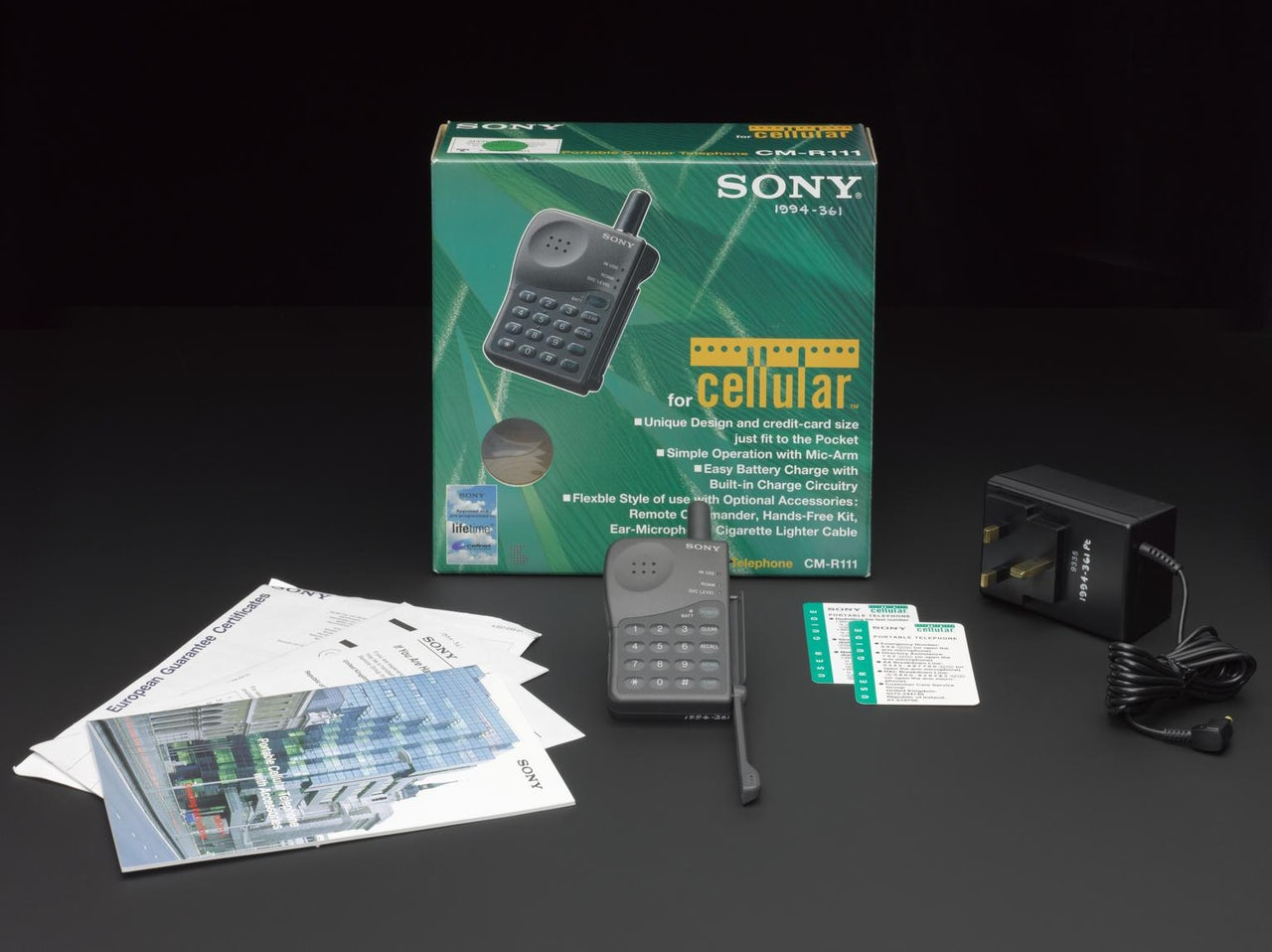 SONY CM-R111 Personal Mobile Cellnet (1994)