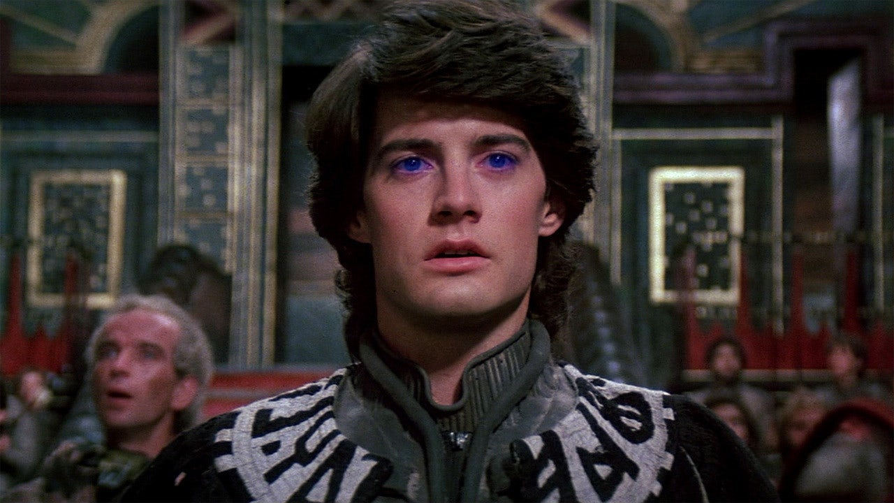 He is your savior, Muad'dib, the Kwisatz Haderach... Kyle MacLachlan.