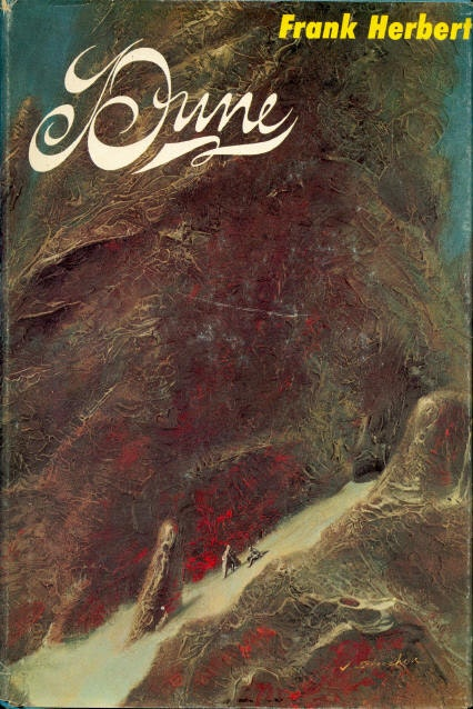 The first edition cover of Dune.