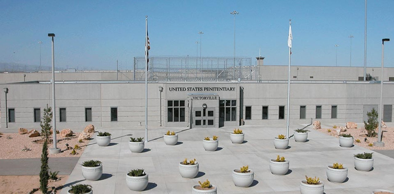 USP Victorville, one of several prisons (including FCI Victorville) located in the area
