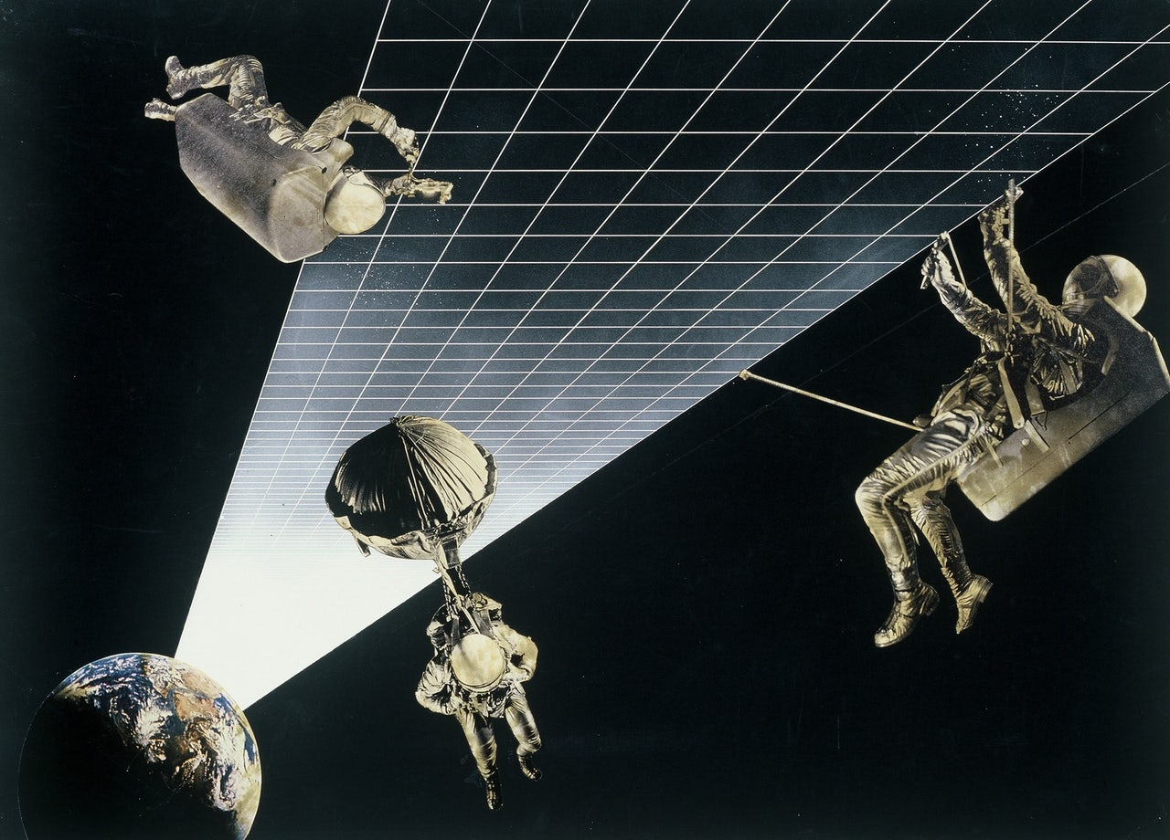 Architettura interplanetaria, 1970-1971.