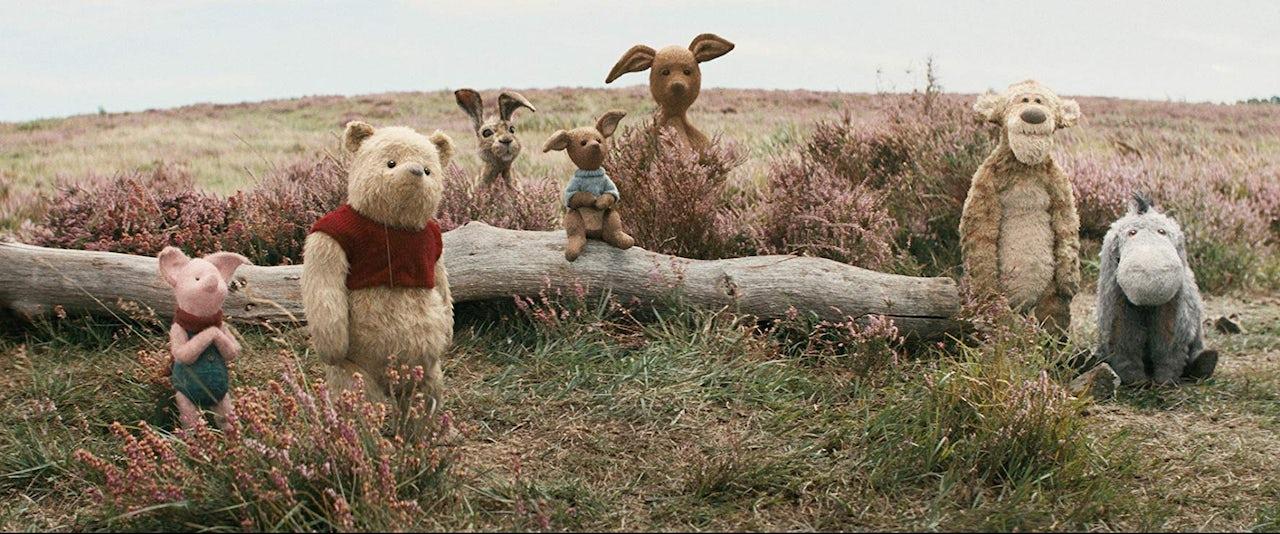 Pooh and pals.