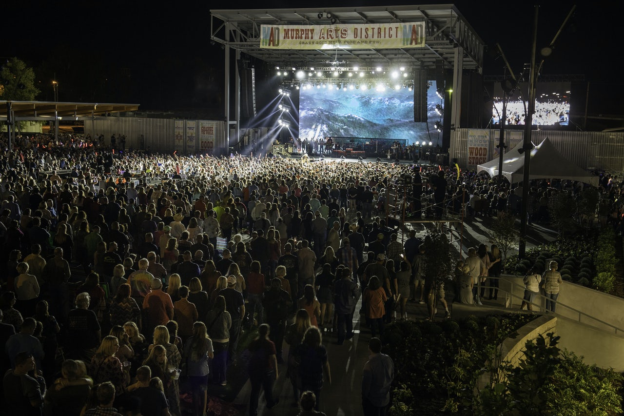 "Though three new concert venues have opened in El Dorado, MAD CEO Terry Stewart says, ""We don't want to be branded as a town that's just a place to go hear a concert."""