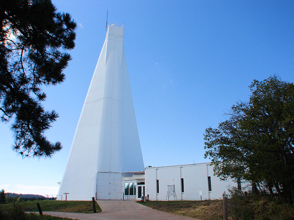 Conspiracy theory: an alien, 'Annihilation' event is unfolding at Sunspot Solar Observatory in New Mexico