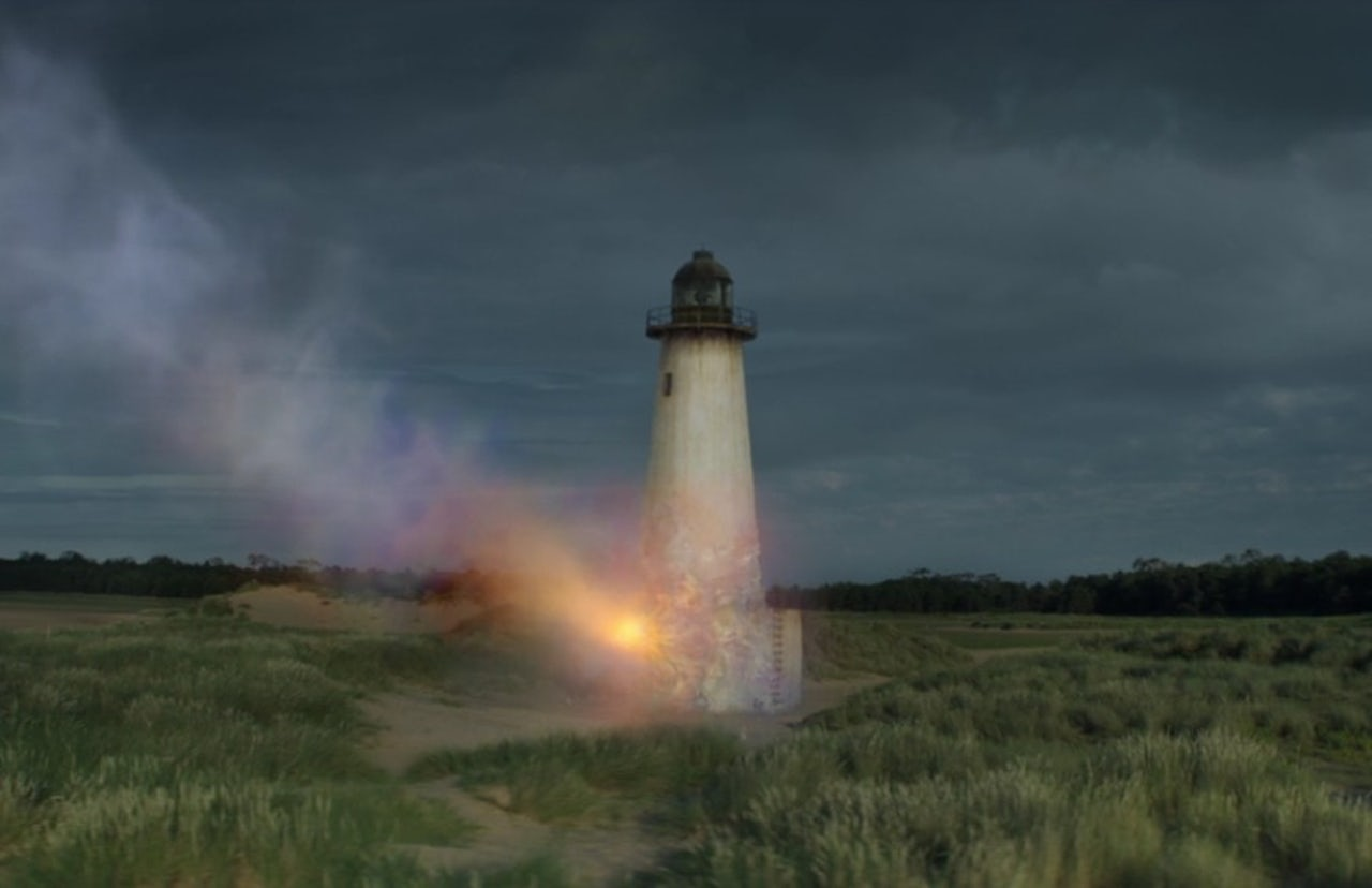 The lighthouse in the film Annihilation.