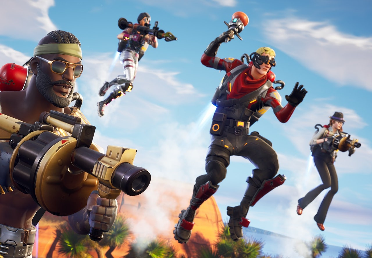 Fortnite' could only exist in a world that's running out of