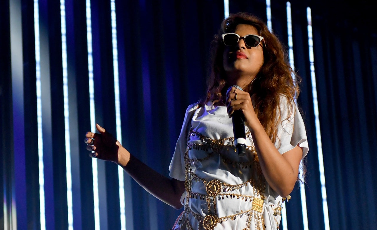 M.I.A. is too raw for the radio