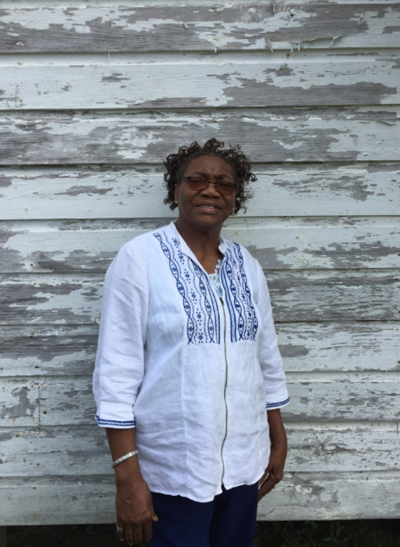 """I just love quilting; it does something for me,"" China Pettway said. ""If I'm feeling depressed, feeling bad, I get me a needle or get on my sewing machine and I start sewing and it makes it a whole lot different."""