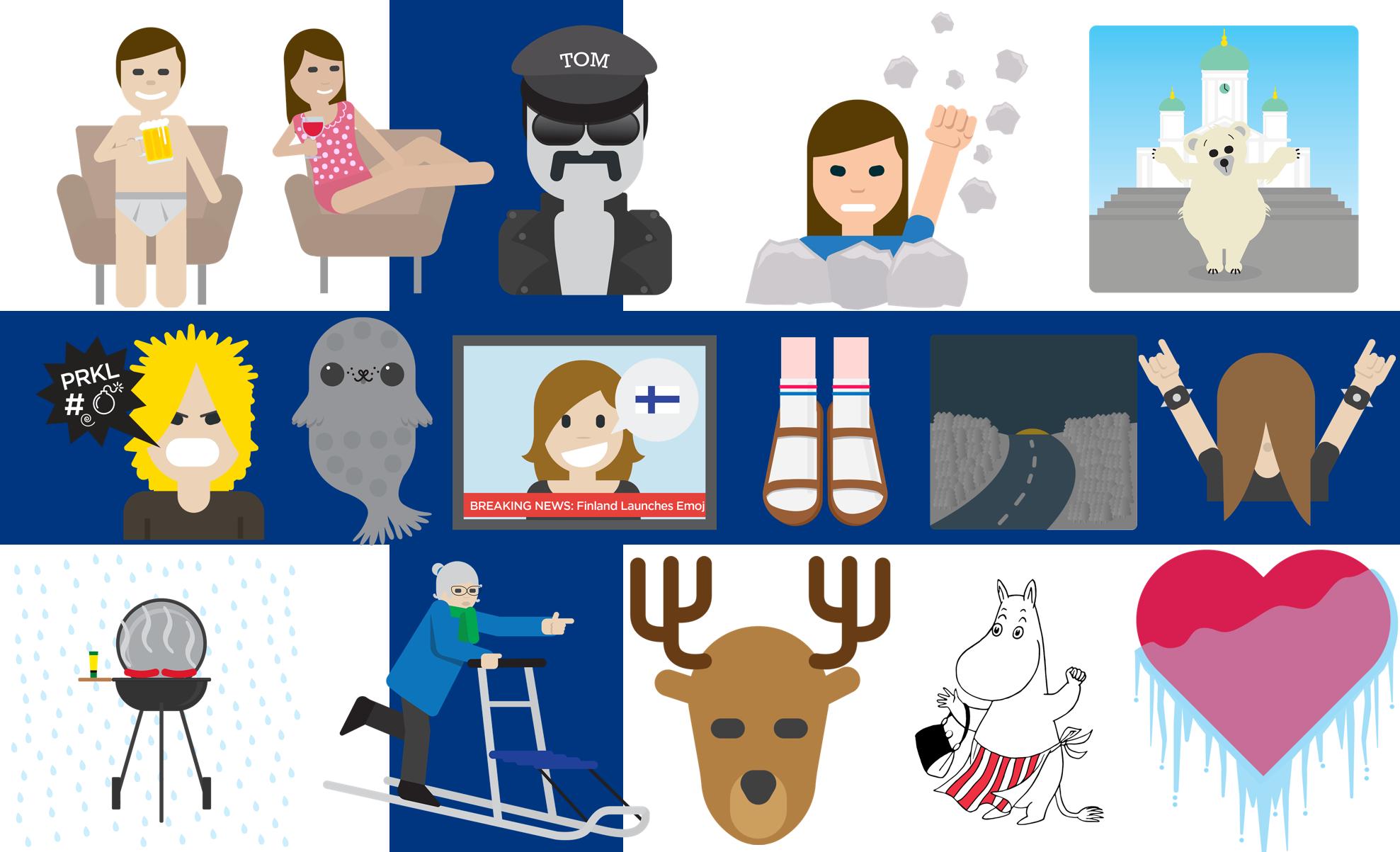 Behold, Finland's national emojis