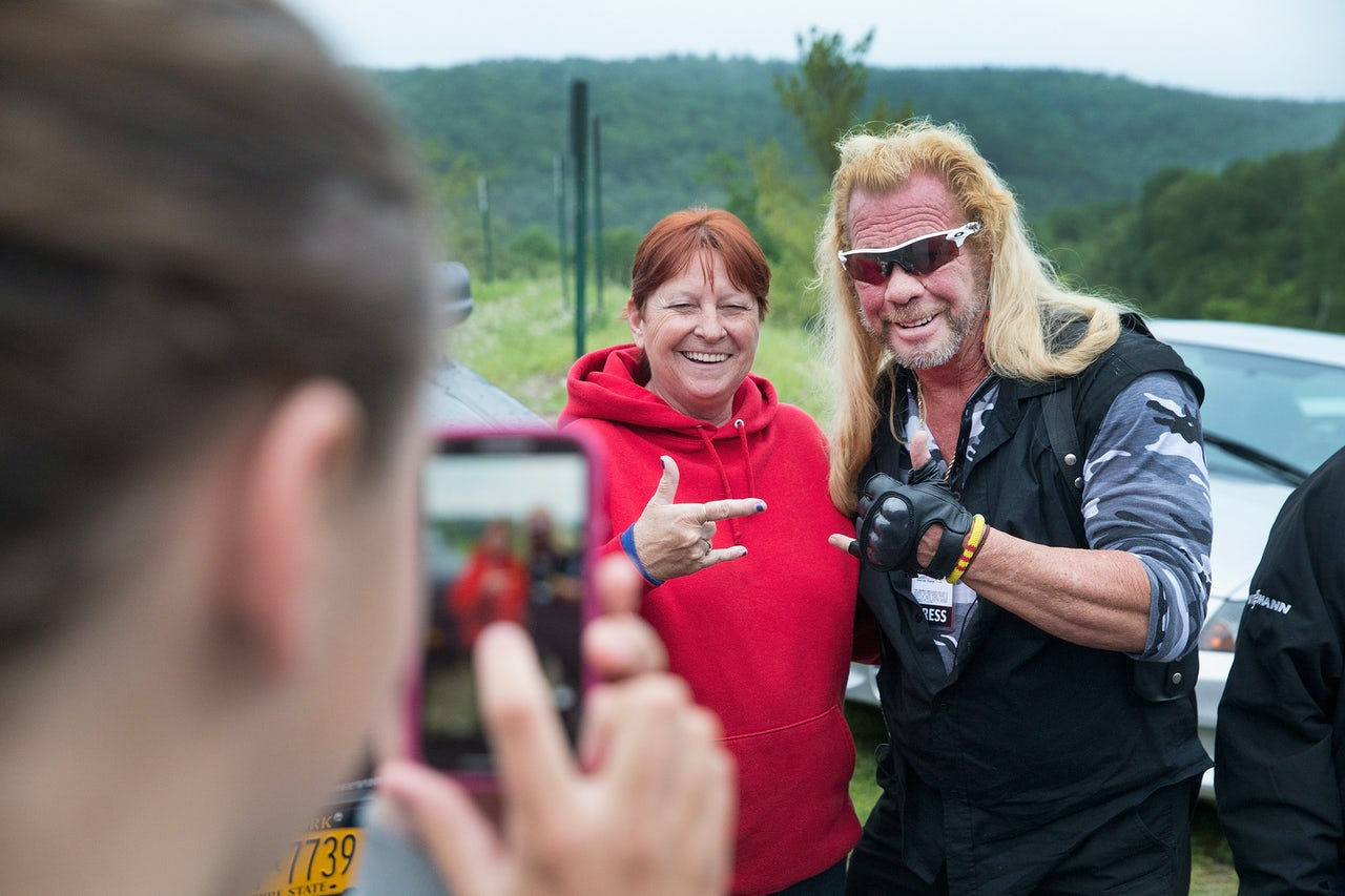 For some reason, Dog the Bounty Hunter was in Dannemora after Sweat was captured.