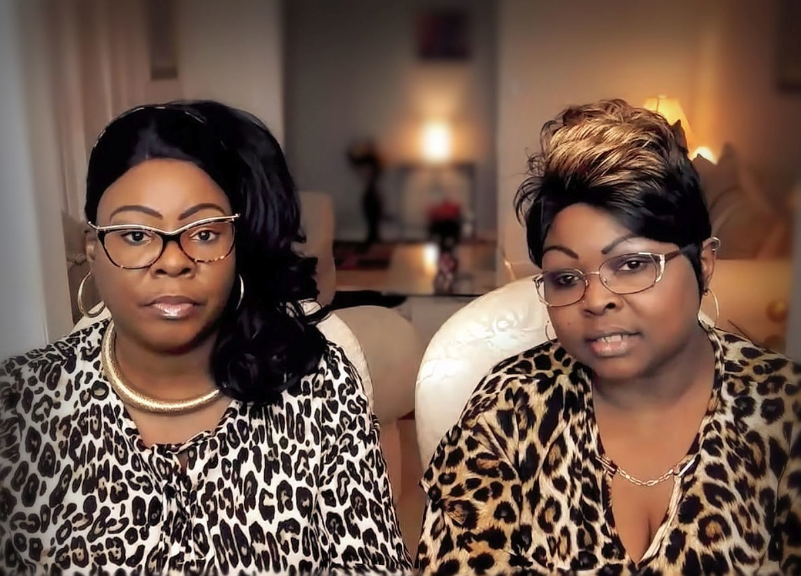 Diamond and Silk run the most obvious con on the right