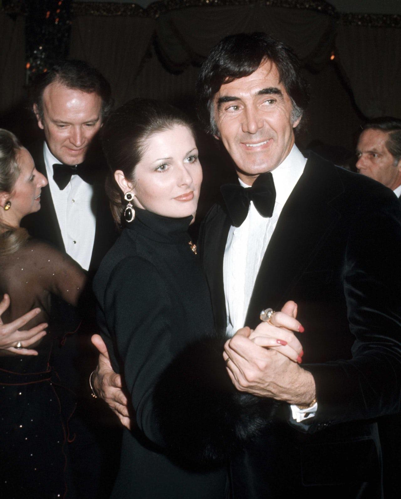 DeLorean with his third wife, Cristina Ferrare.