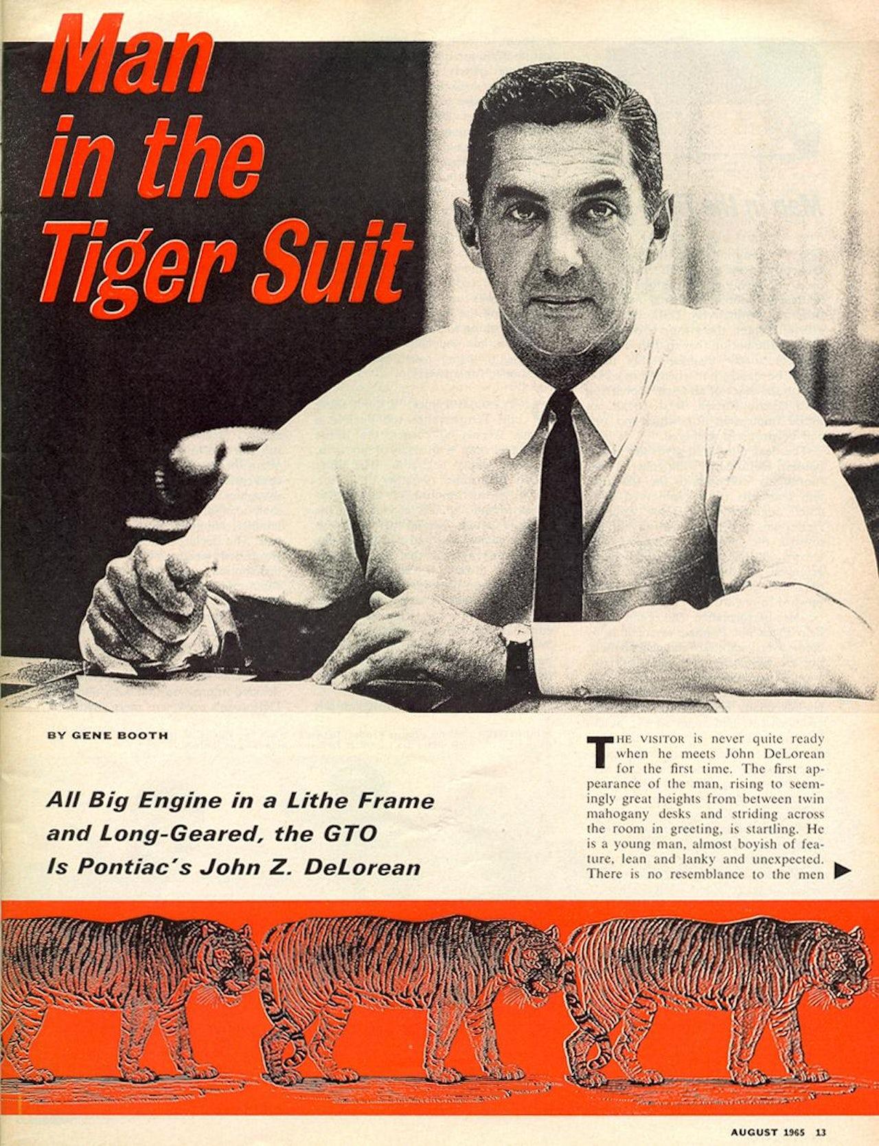 Car Life, August 1965.