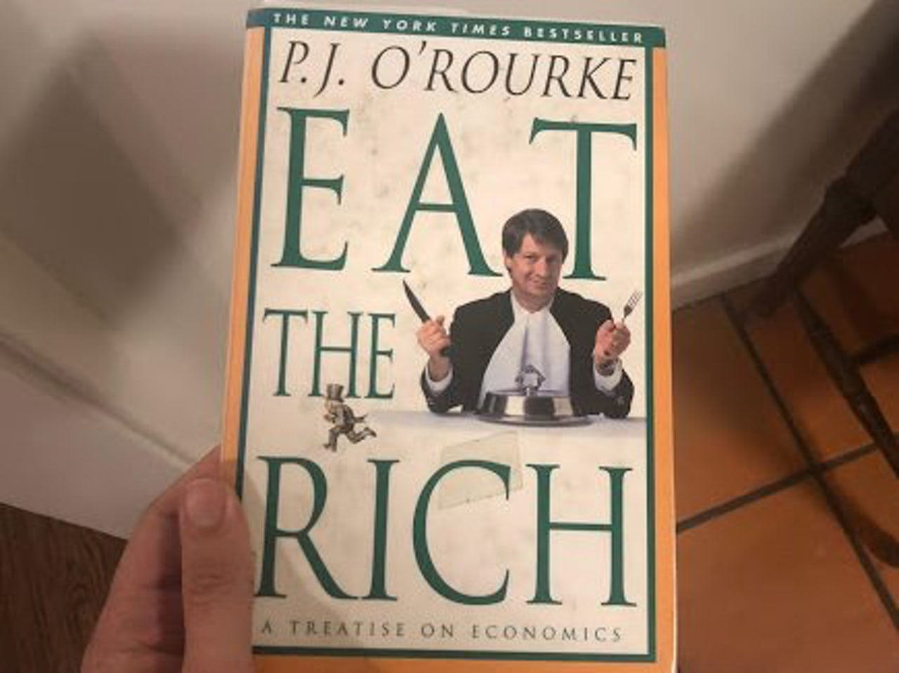 A modest proposal from Libertarian NPR guy P.J. O'Rourke. This book is from 1998.