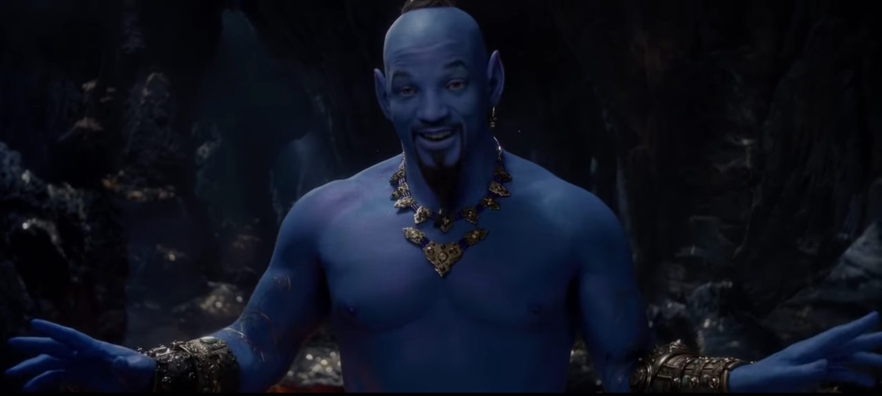 They didn't have to make Will Smith blue | The Outline