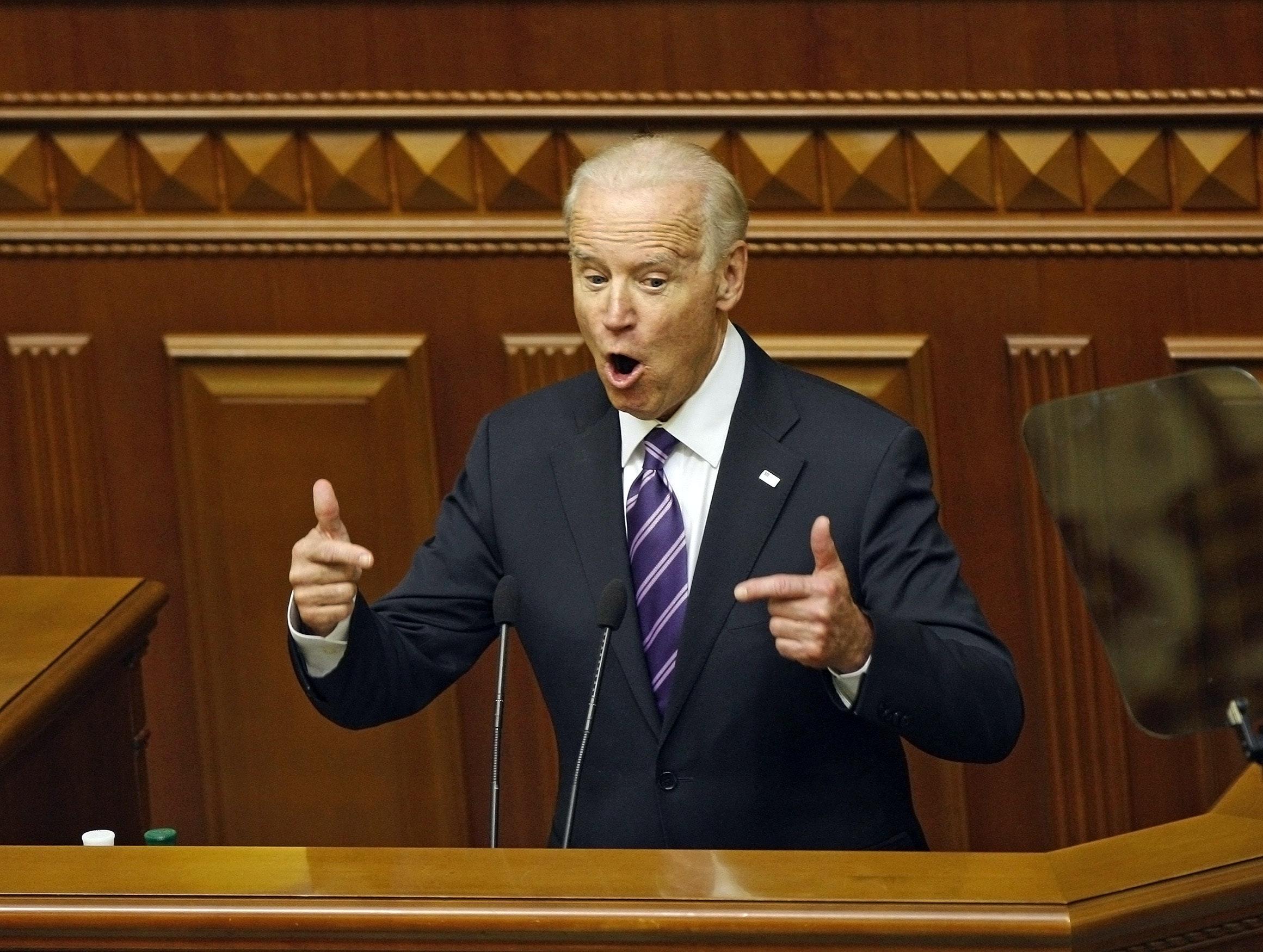 Please... god... anyone but Joe Biden