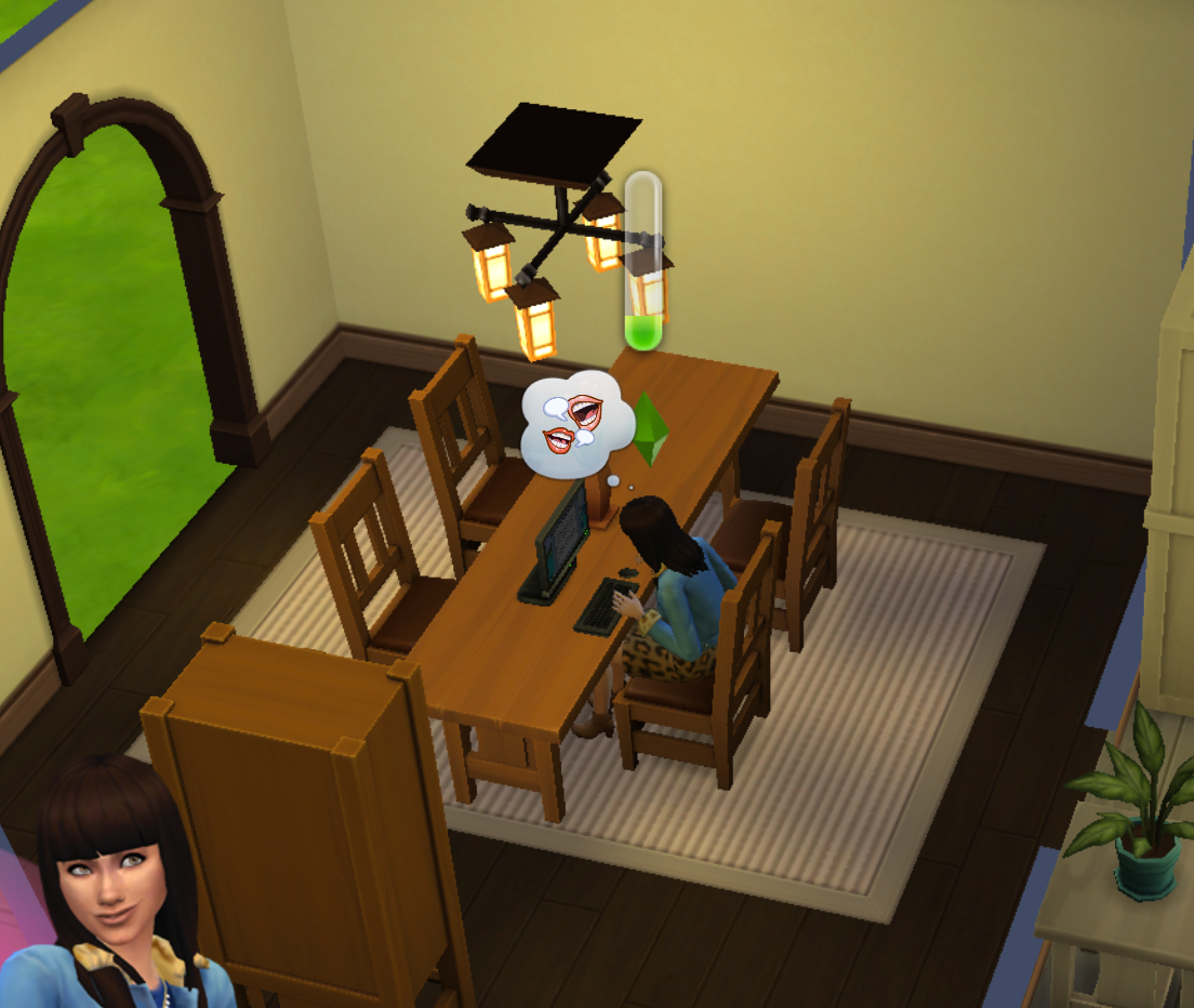 My Sim is the most successful freelancer I know