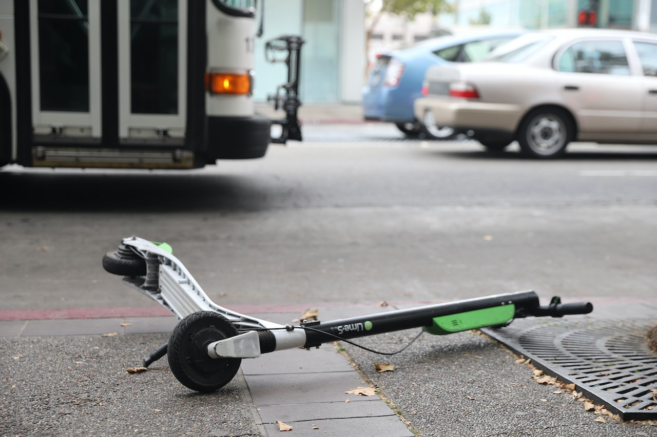 Scooters force you to decide how much of a dick you are willing to be