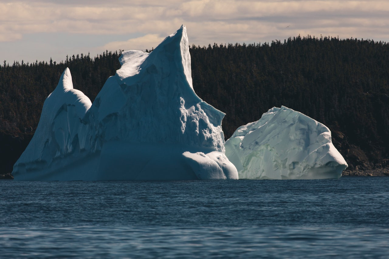 When you see an iceberg, everything else feels small | The