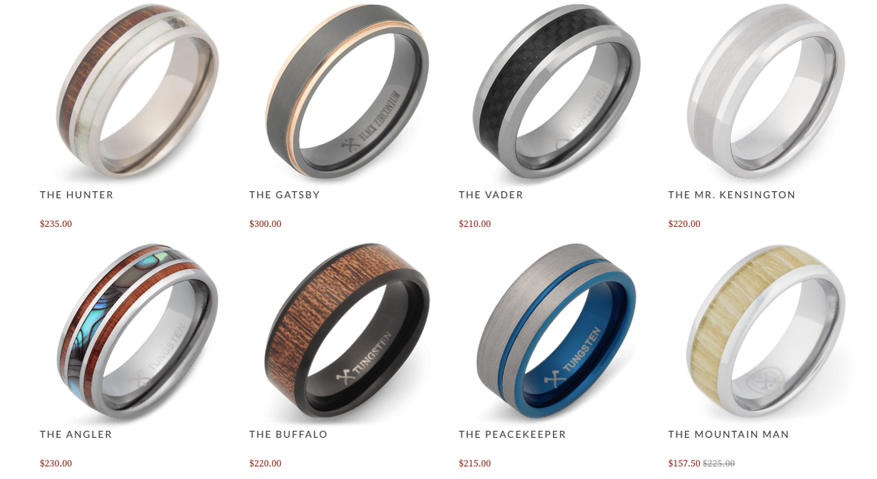 Manly Wedding Rings For Tough Guys Who Are Dudes The Outline