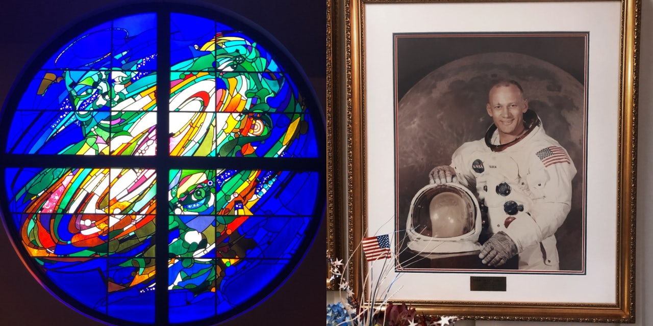Finding God on the Moon