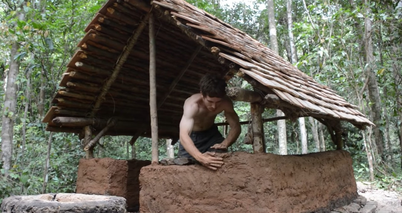 A Good Place: Learning to live off the land with the Bob Ross of primitive technology