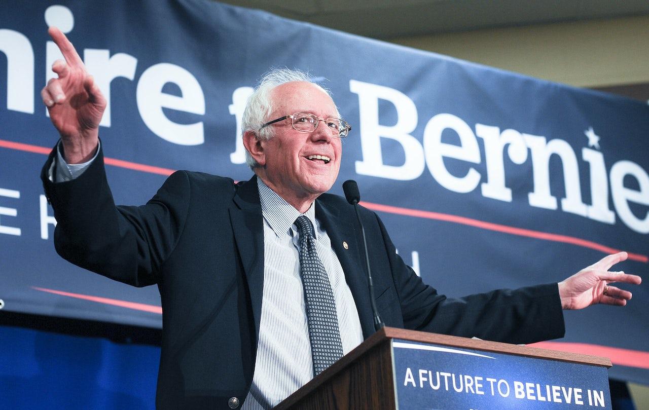 Bernie Sanders is still running for president