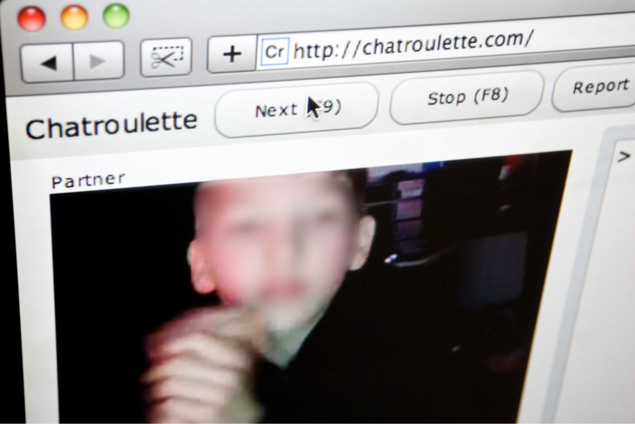 A love story that started on ChatRoulette