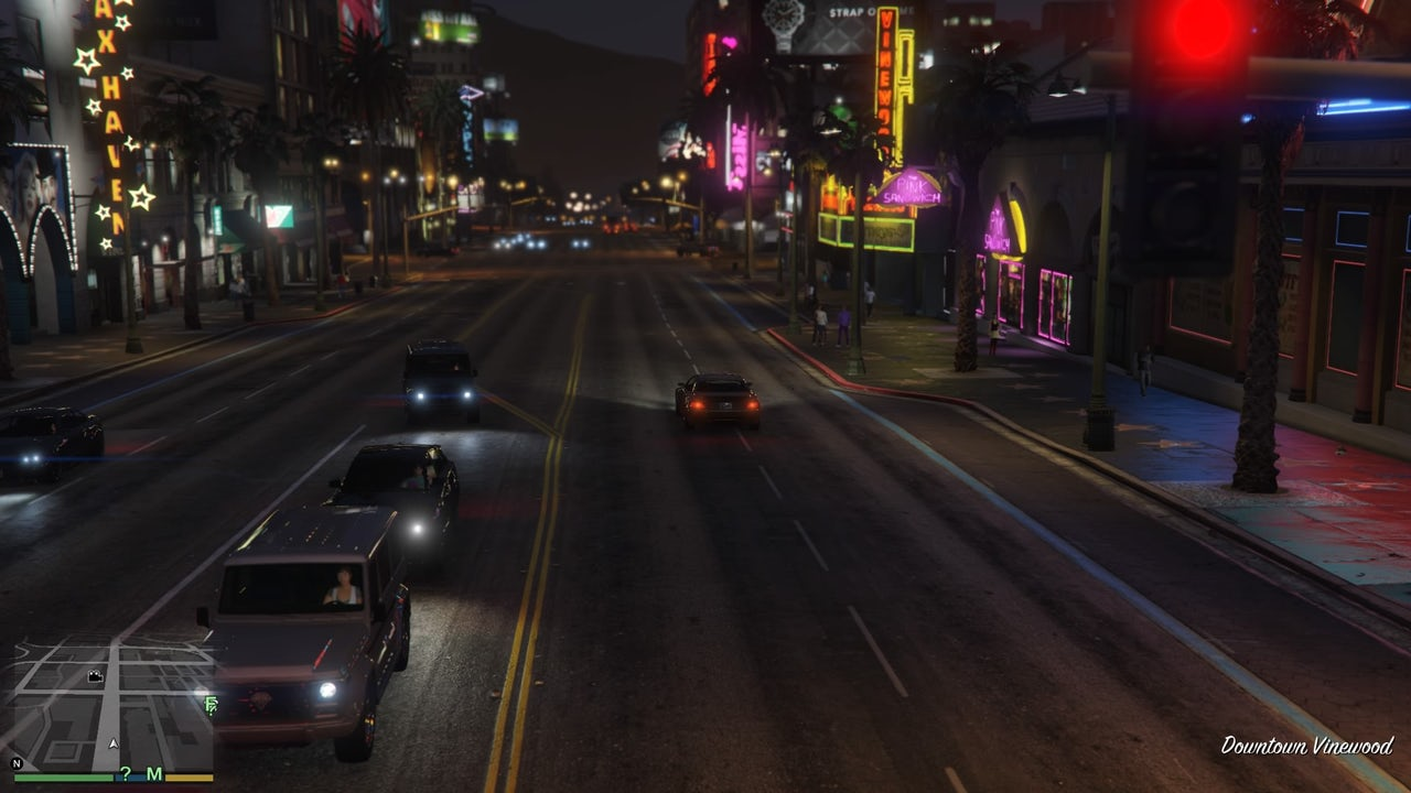 'Grand Theft Auto V' and the joys of aimless driving in video games