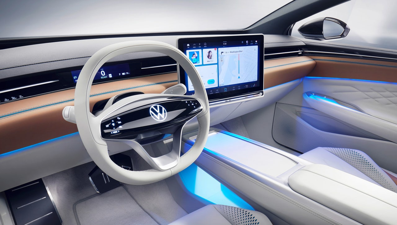 The VW SPACE VIZZION is the final frontier of unnecessary touchscreens