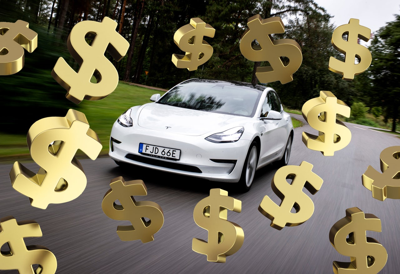 It might be a long time before electric cars like Teslas or the Ford Mustang Mach-E get cheaper