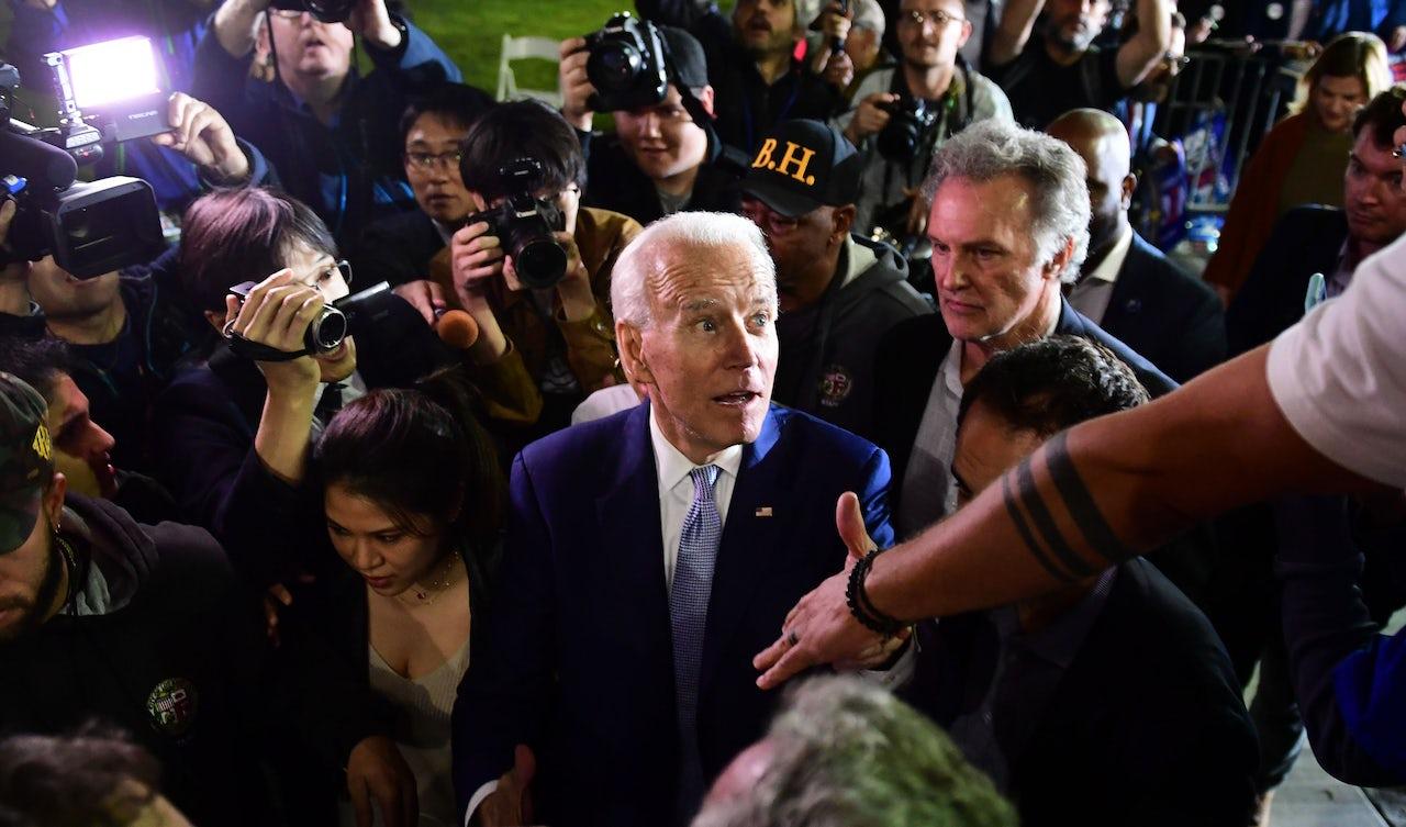 My dad, the Joe Biden voter
