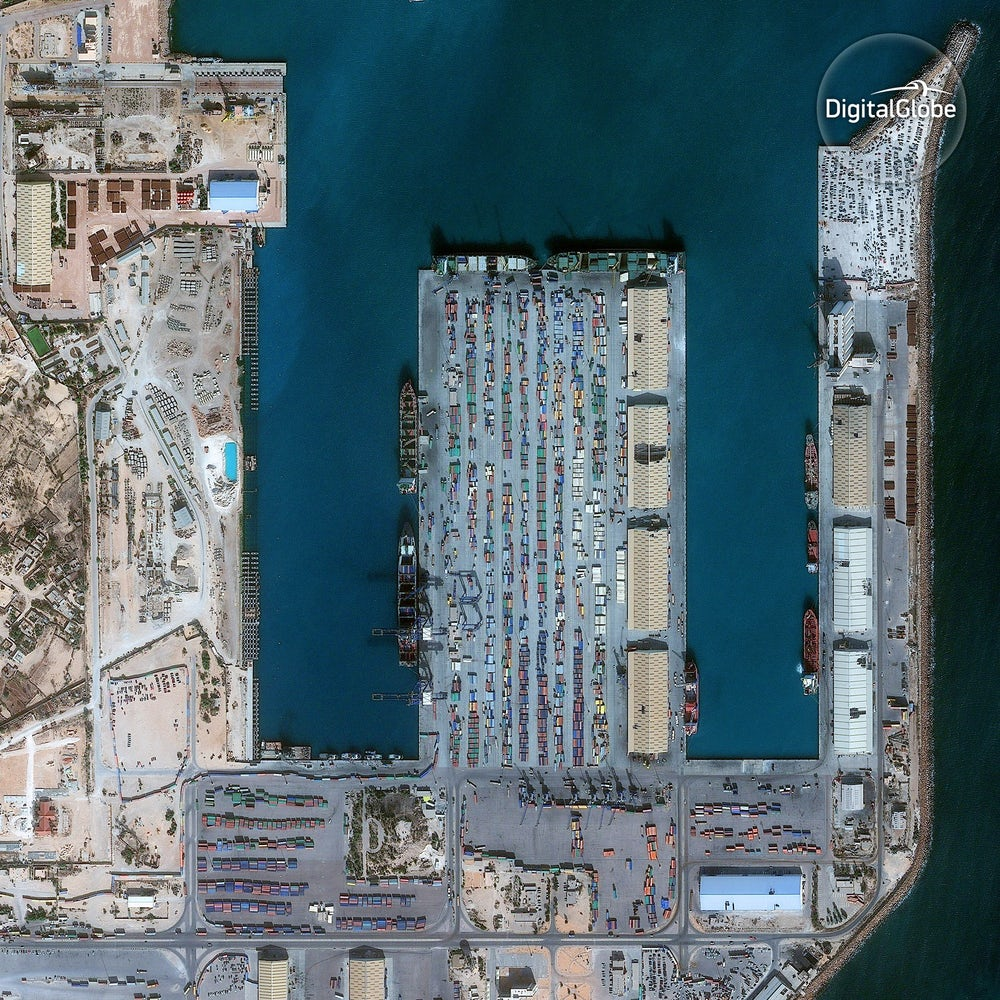 Shipyard in Misrata.